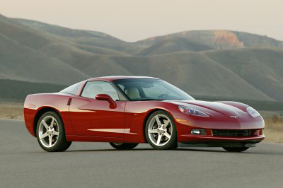 Фото Chevrolet Corvette Coupe (C6)